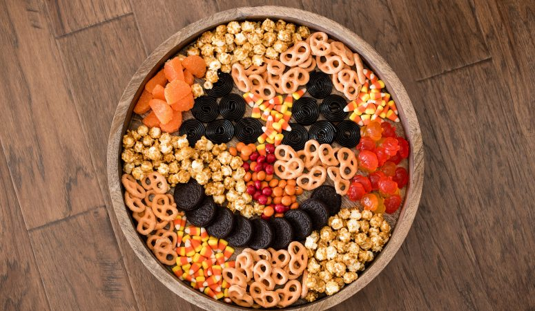 Halloween Entertaining Candy Tray